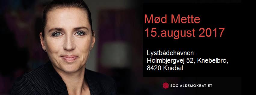 Mette Frederiksen i Syddjurs