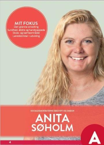Anita Søholm folder
